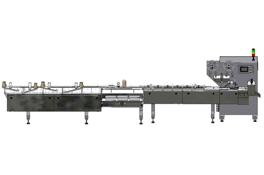 HIGH SPEED FULL AUTOMATIC PILLOW FEED PACKING MACHINE
